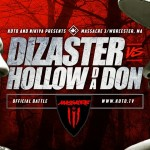 Watch Dizaster VS Hollow Da Don KOTD Battle (Massacre 3)